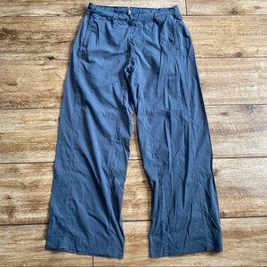 Lululemon Studio Pants Blue Size Large Unlined VTG